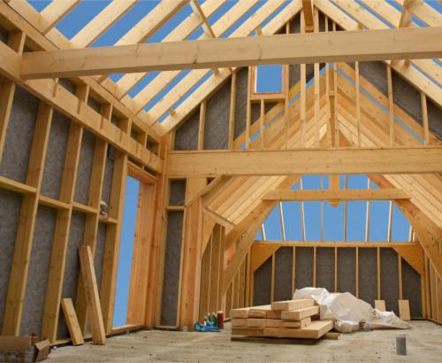 Construction maison ossature bois trouvez le bon constructeur one artisan - Fabrication maison ossature bois ...